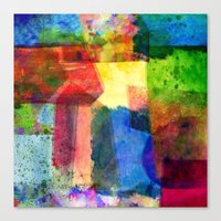 water color Canvas Prints featuring water color by Pao Designs