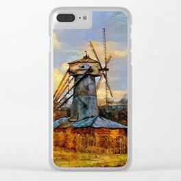 Windmill Clear iPhone Case
