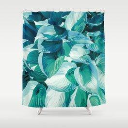 Botanic leafage Shower Curtain