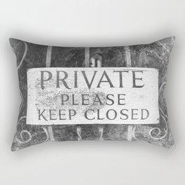 Private Rectangular Pillow
