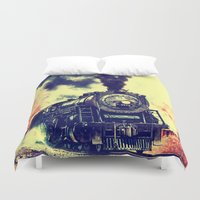 thorin Duvet Covers featuring Express Train by Thorin