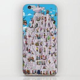 Bubble climbing iPhone Skin