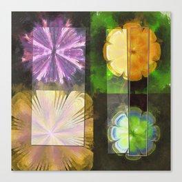 Feaster Truth Flower  ID:16165-131553-09981 Canvas Print