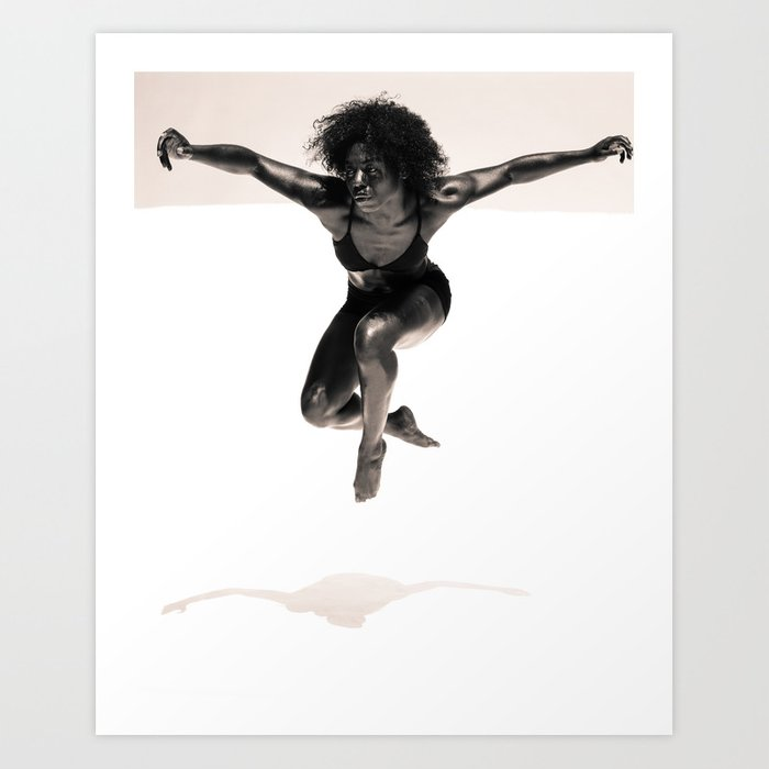 Natasha - Dancer Series 2 Art Print