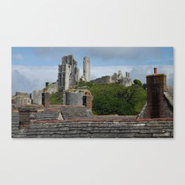 Over The Roof Tops Canvas Print