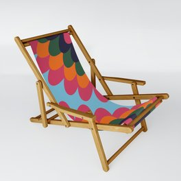 Dahlia on an island Sling Chair