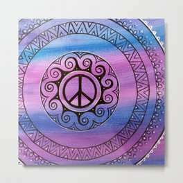 Peace II  Metal Print