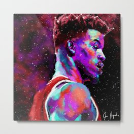 Jimmy G Buckets Constellation Metal Print