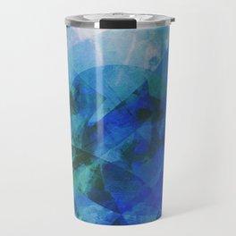 Precipice in Blue XXI Travel Mug