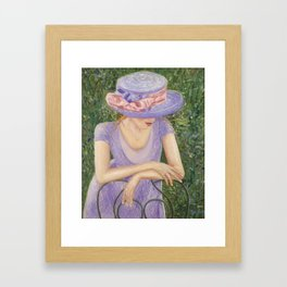 The Engagement  Framed Art Print