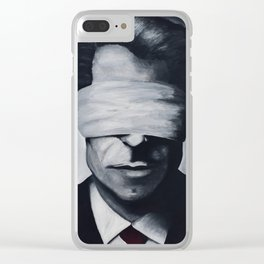 He Who Finds Himself, Loses His Misery Clear iPhone Case