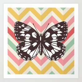Colorful Butterfly Print - Buttefly Home Decor Art Print