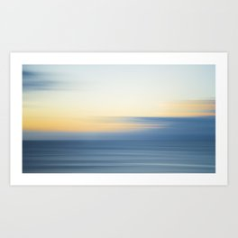 Abstract Sunrise Art Print