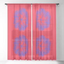 not quite symmetrical Sheer Curtain