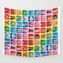 Pride Pets Wall Tapestry