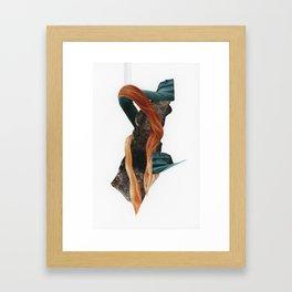 Månafoss Framed Art Print