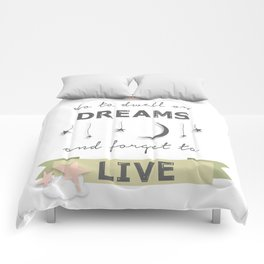 J.K. Rowling Quote Comforters