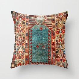 Kurdish East Anatolian Niche Rug Print Throw Pillow