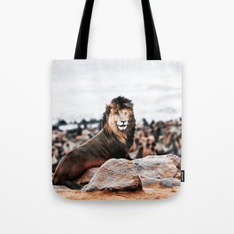 Sea Lion Tote Bag