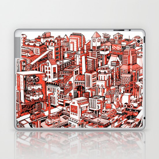 City Machine Laptop & iPad Skin