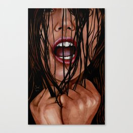 SIlent Scream Canvas Print