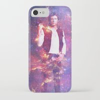 han solo iPhone & iPod Cases featuring Han Solo by MaNia Creations