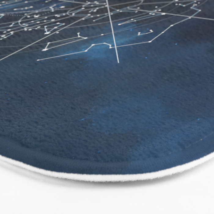 Celestial Map Bath Mat