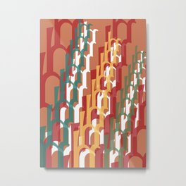 Escalation Metal Print
