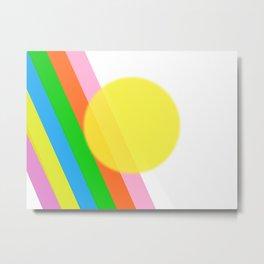 Sunshine and Rainbows Metal Print