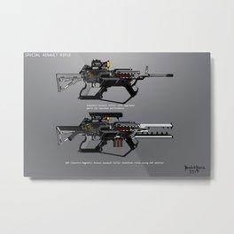 Assault Rifle SIGIL Metal Print