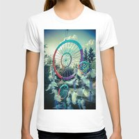 dream catcher T-shirts featuring Dream Catcher by Sandy Broenimann