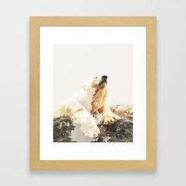 Bear a Charmed Life #society6 #decor #buyart Framed Art Print
