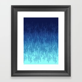 Meltdown Cold Framed Art Print