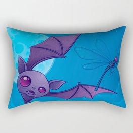 Damselfly In Distress Rectangular Pillow