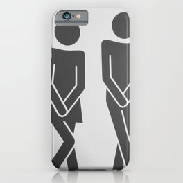 Great Haste bw iPhone Case