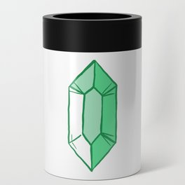 Green Crystal Can Cooler