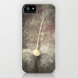 Allium Bud iPhone Case
