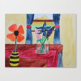 Flowers Inside Canvas Print
