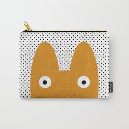 Orange Monster Carry-All Pouch