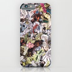 Star Wars Comic Book Collage iPhone 6 Slim Case