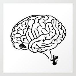 Brain Labyrinth Art Print