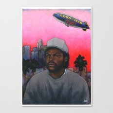 ICE CUBE'S A PIMP! (original) hip hop portrait Canvas Print