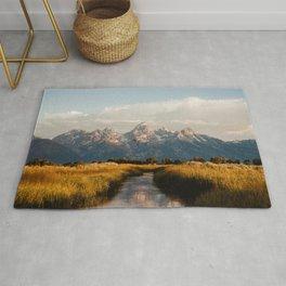 Grand Teton National Park at Sunrise Rug