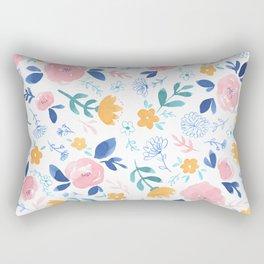 Lillian Floral Rectangular Pillow