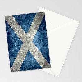 Scottish Flag - Vintage Retro Style Stationery Cards