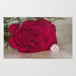Love Rose  Rug