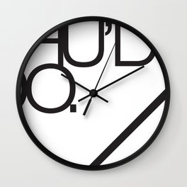 Should do  Wall Clock