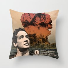 Thought Process Throw Pillow