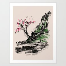 scenery Art Print