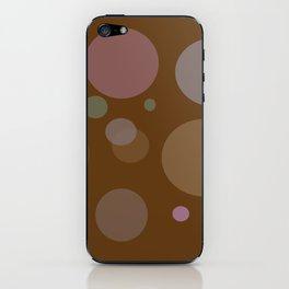 Chocolate Dots iPhone Skin